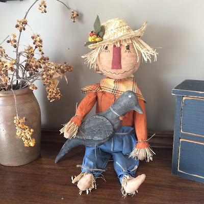 http://www.ebay.com/itm/Primitive-Fall-Scarecrow-and-Crow-Doll-Handmade-The-Olde-Saltbox-/272366041742?ssPageName=STRK:MESE:IT