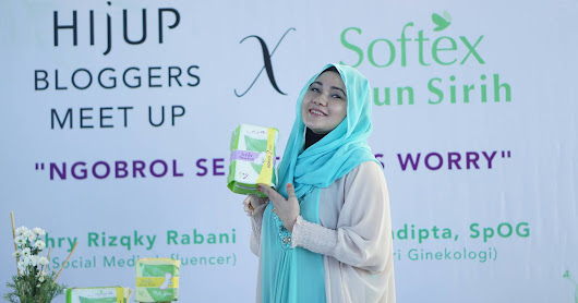 HIjUP Bloggers Meet Up Bersama SOFTEX Daun Sirih