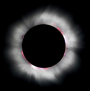 foto gerhana matahari total paling indah sedunia