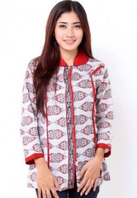model baju batik wanita lengan panjang untuk pernikahan