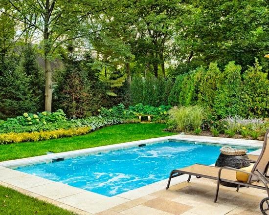 Hogares frescos 18 dise os de peque as pero hermosas piscinas - Diseno de piscinas ...