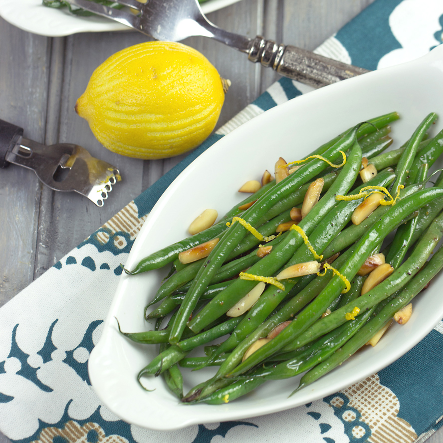 Lemony Green Beans | Cooking on the Front Burner #lemongreenbeans #sidedish