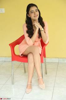 Rukshar Mir in a Peachy Deep Neck Short Dress 108.JPG
