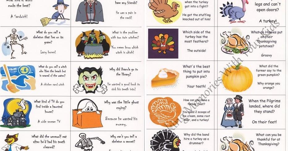 Frugal Freebies FREEBIE Printable Lunch Box Jokes (ALL)