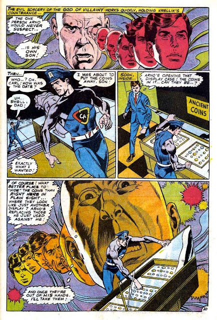 Captain Action v1 #2 dc 1960s silver age comic book page art by Wally Wood