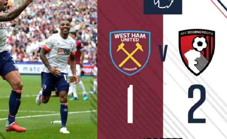 Hasil West Ham United vs Bournemouth Skor Akhir 1-2 [ Premier League 2018]