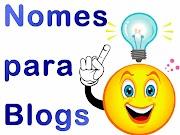 Nome do blog