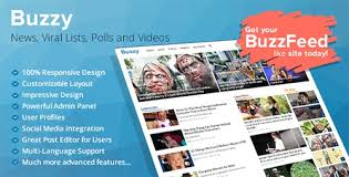 Download Buzzy v2.0- News, Viral Lists, Polls and Videos
