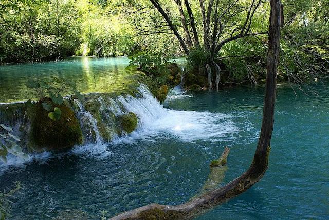 بحيرات بليتفيتش الكرواتية ،، جمال وروعة 800px-Plitvice_Lakes