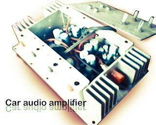 high power car audio amplifier