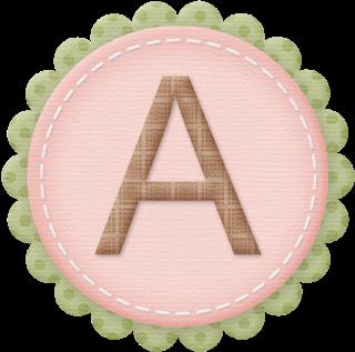 Abecedario en Monograma Rosa.