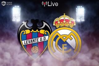 مشاهدة مباراة ريال مدريد و ليفانتي بث مباشر يلا شوت الدوري الاسباني