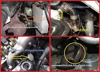 Kerusakan turbocharger akibat menutup EGR Resiko Menutup Saluran EGR Turbocharger bisa rusak