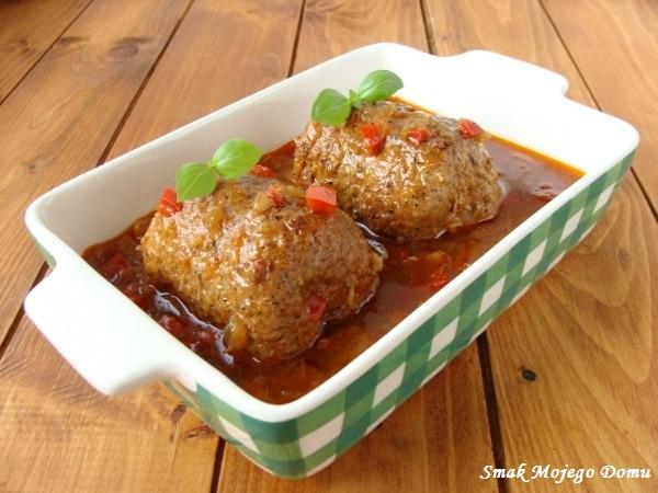 Roladki z mozzarellą i pomidorami suszonymi