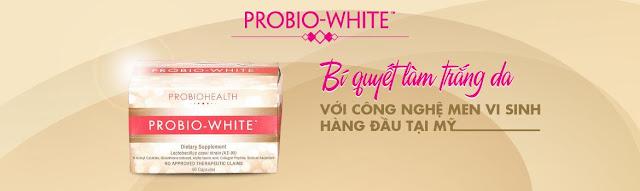 Thuốc uống chống lão hóa da Probio White