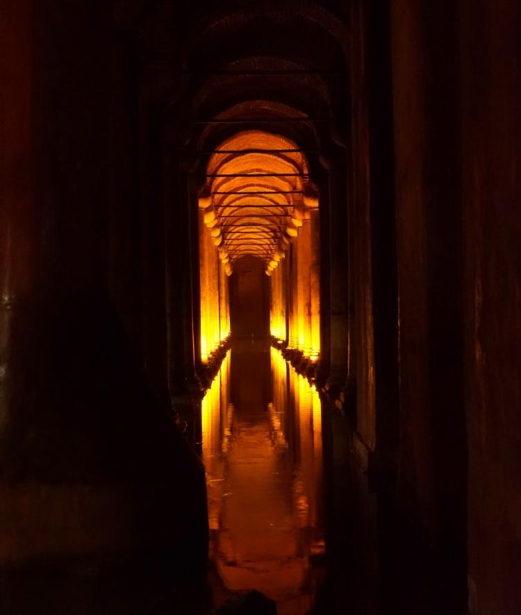 Euriental | the Bascilica Cistern in Istanbul, Turkey