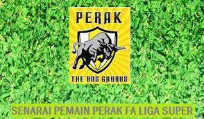 Senarai Pemain Perak 2017 Liga Malaysia