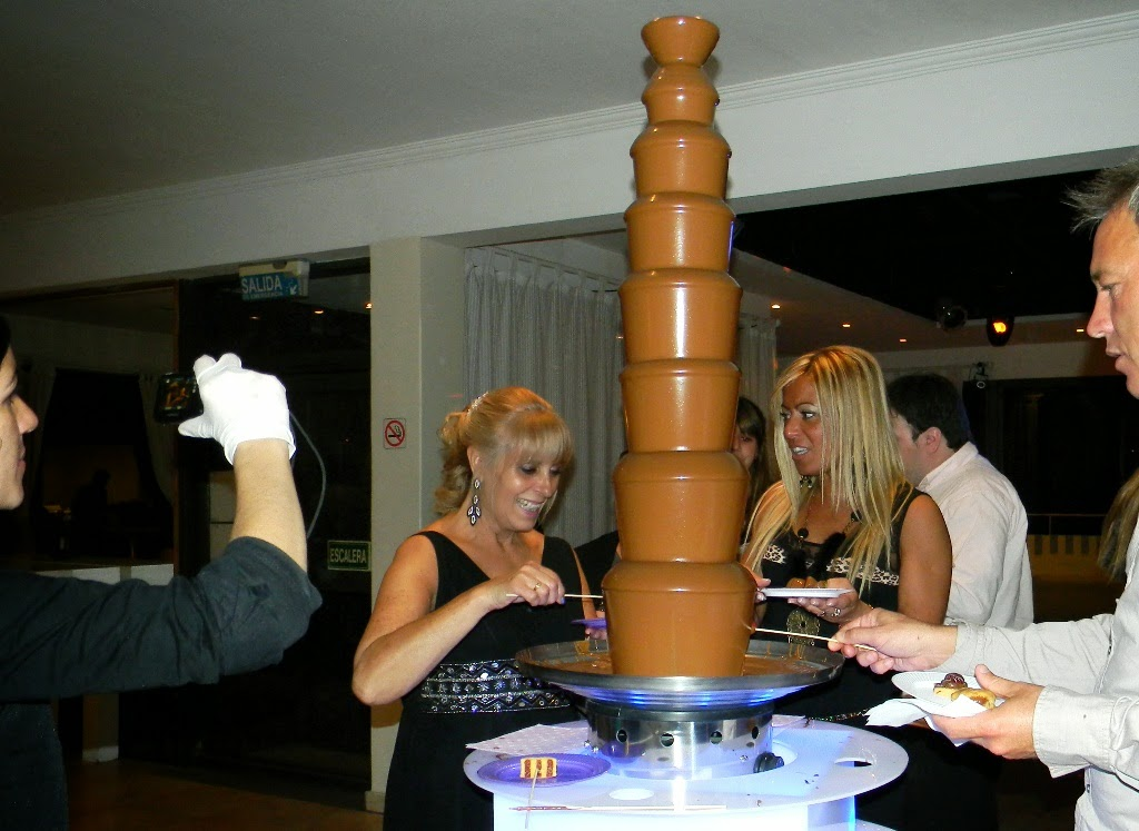 cascada de chocolate venta