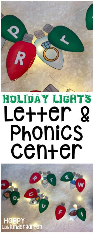 Kinder Garden: Happy Little Kindergarten: Christmas Math & Literacy Centers