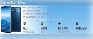 5. Huawei Mate 10 Pro