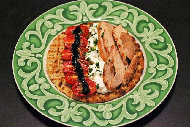 Ανοιχτό Σουβλάκι Κοτόπουλο /  Open Chicken Souvlaki