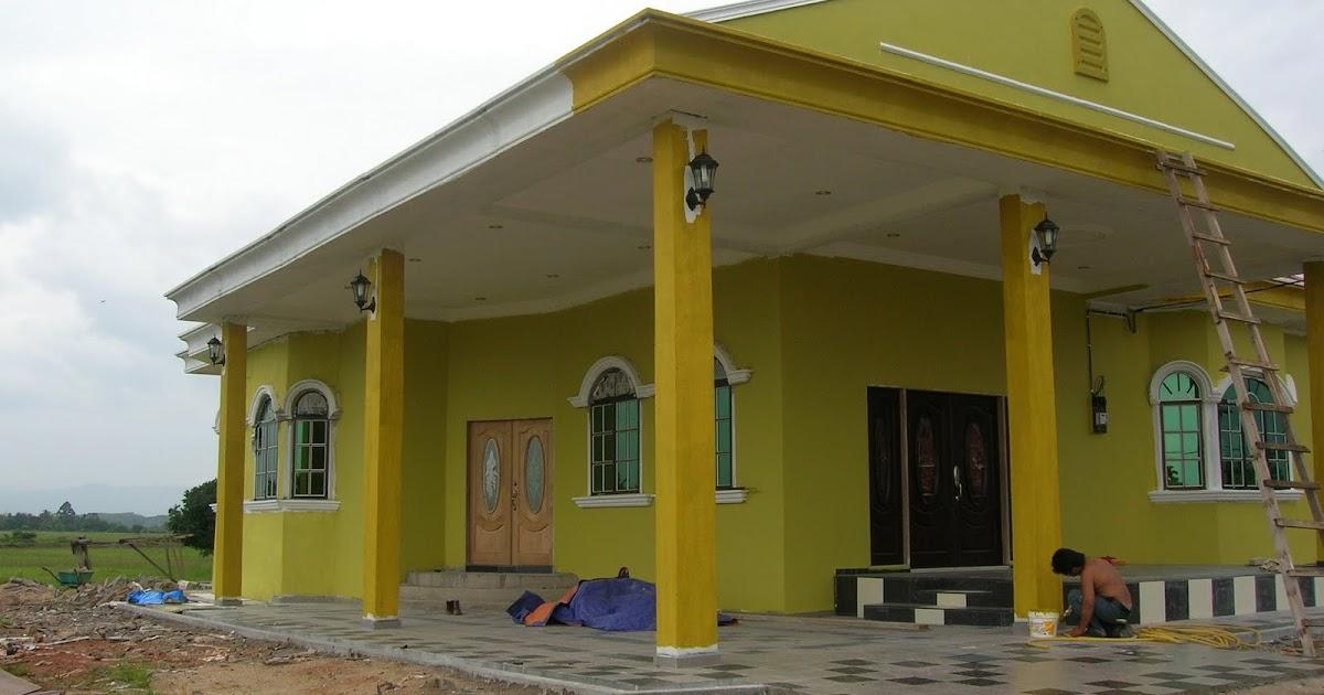 Tren Gaya Warna Cat Dalam Rumah Kuning Gading, Cat Rumah 2020