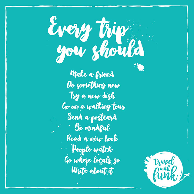Travel Mantra: Travel With Funk (by FunkyOzzi): Travel With Funk Mantra