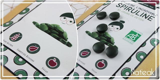 Spiruline petits ronds Vegalia Ecocert