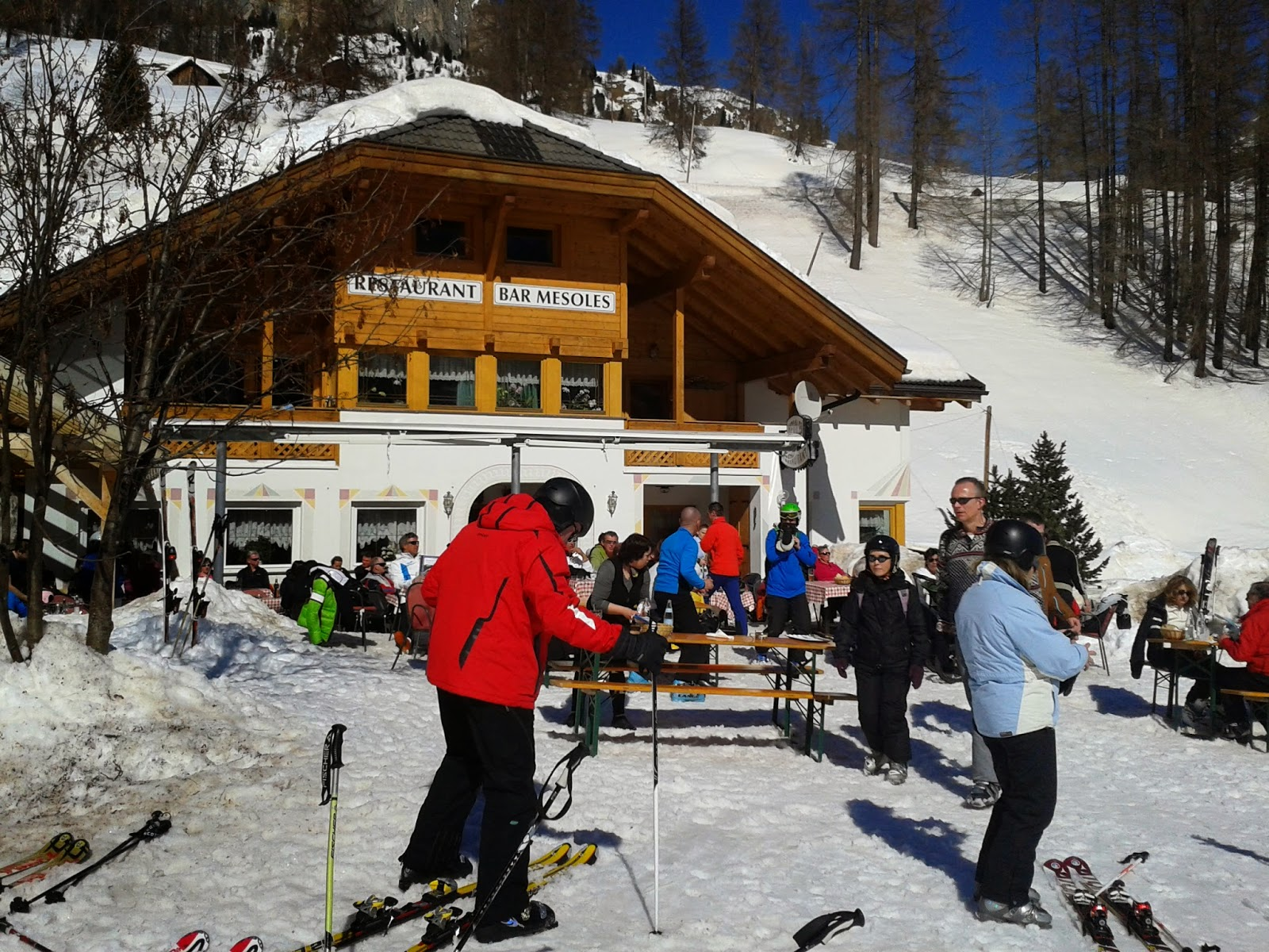 Kim Rosengreen Moller Skisafari Canazei