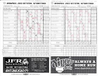PawSox vs. IronPigs, 09-02-13. PawSox win, 4-0.