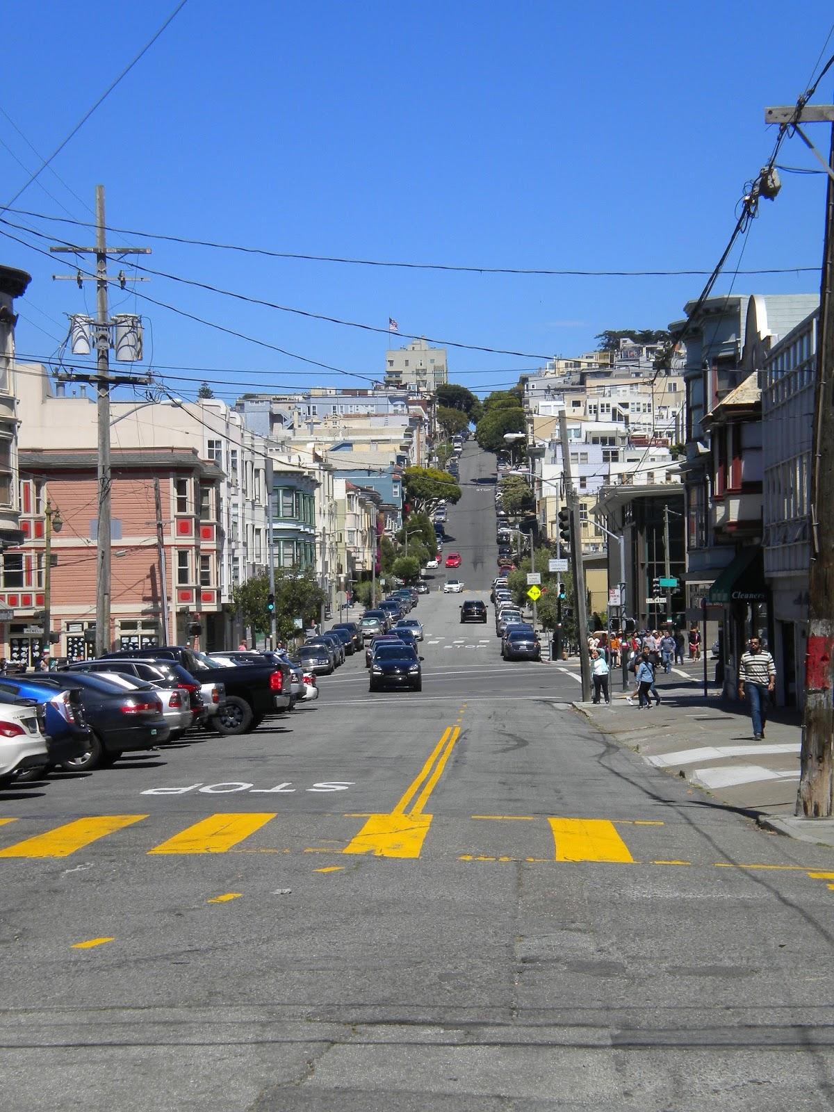 san francisco kalifornia matkailu matkajuttu mallaspulla katunäkymä