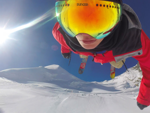 Sungod Revolt ski goggles - look good, practical, and perform well