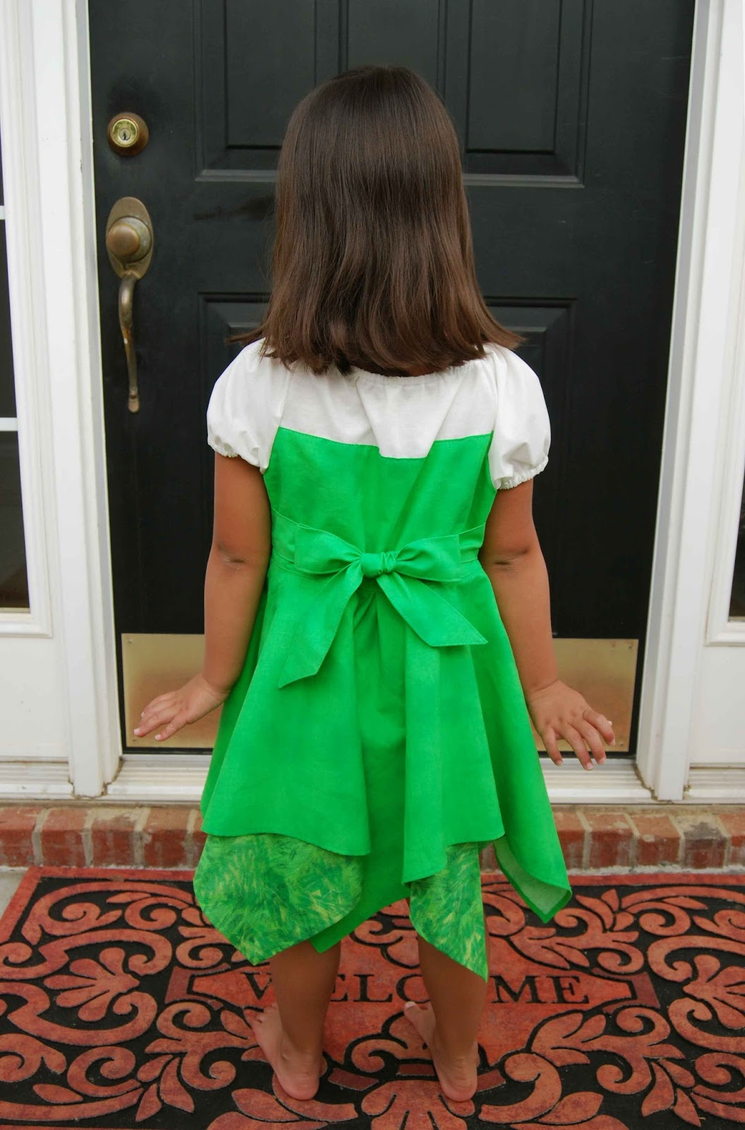 ... help to cinch in the dress and make for easy adjustments for girls of all sizes. Speaking of sizes the Tinkerbell pattern comes in sizes 6m- size 8. & All Things Katy!: Sewing Pattern Testing- Made for Mermaids ...