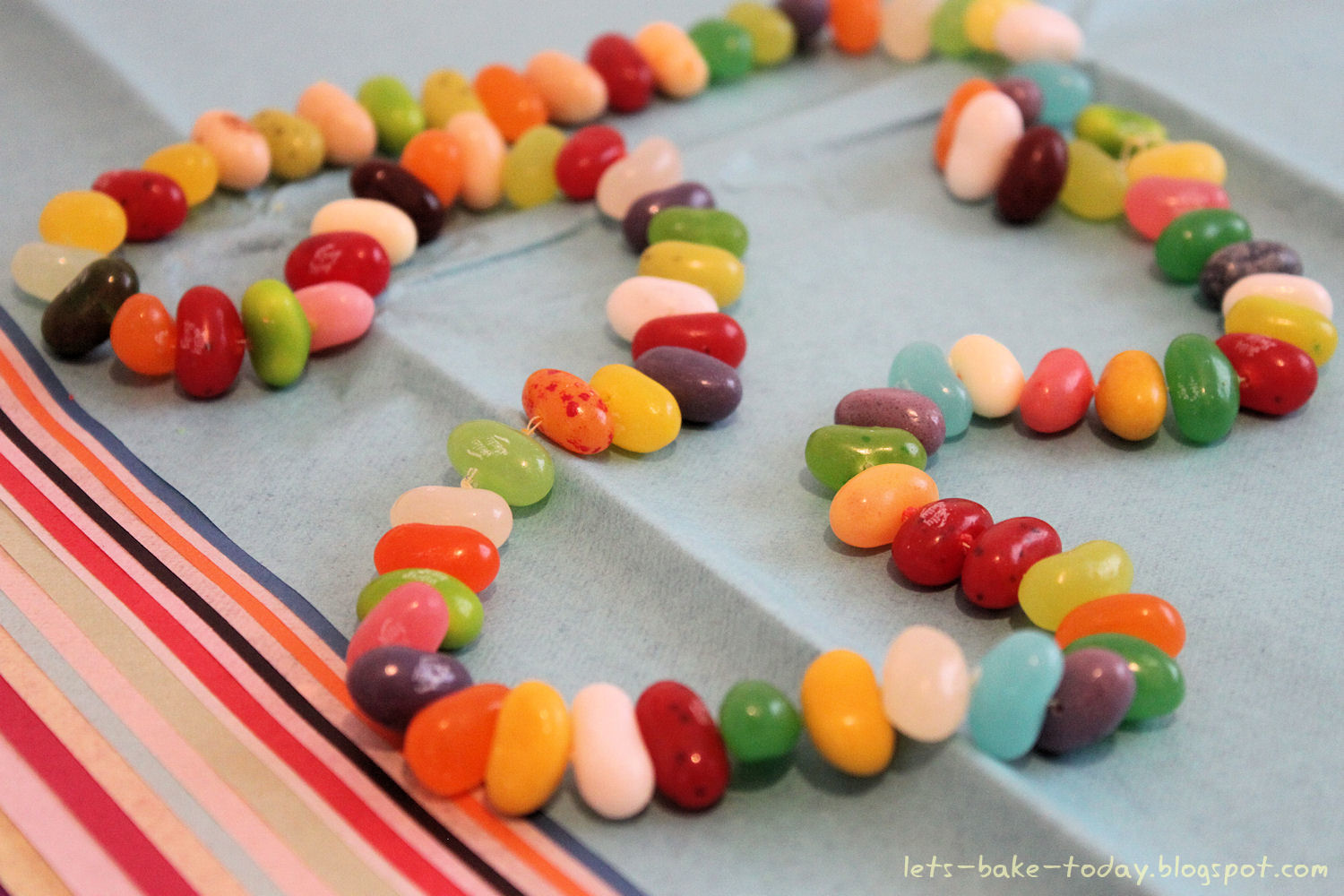 Let's Bake Today!: Jelly Beans Cake