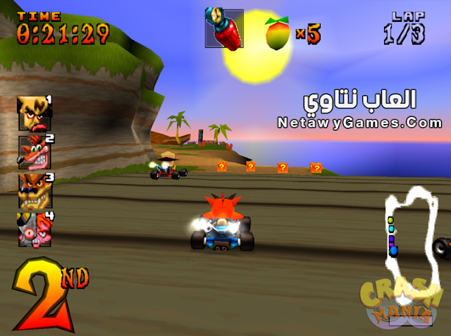 download crash racing team