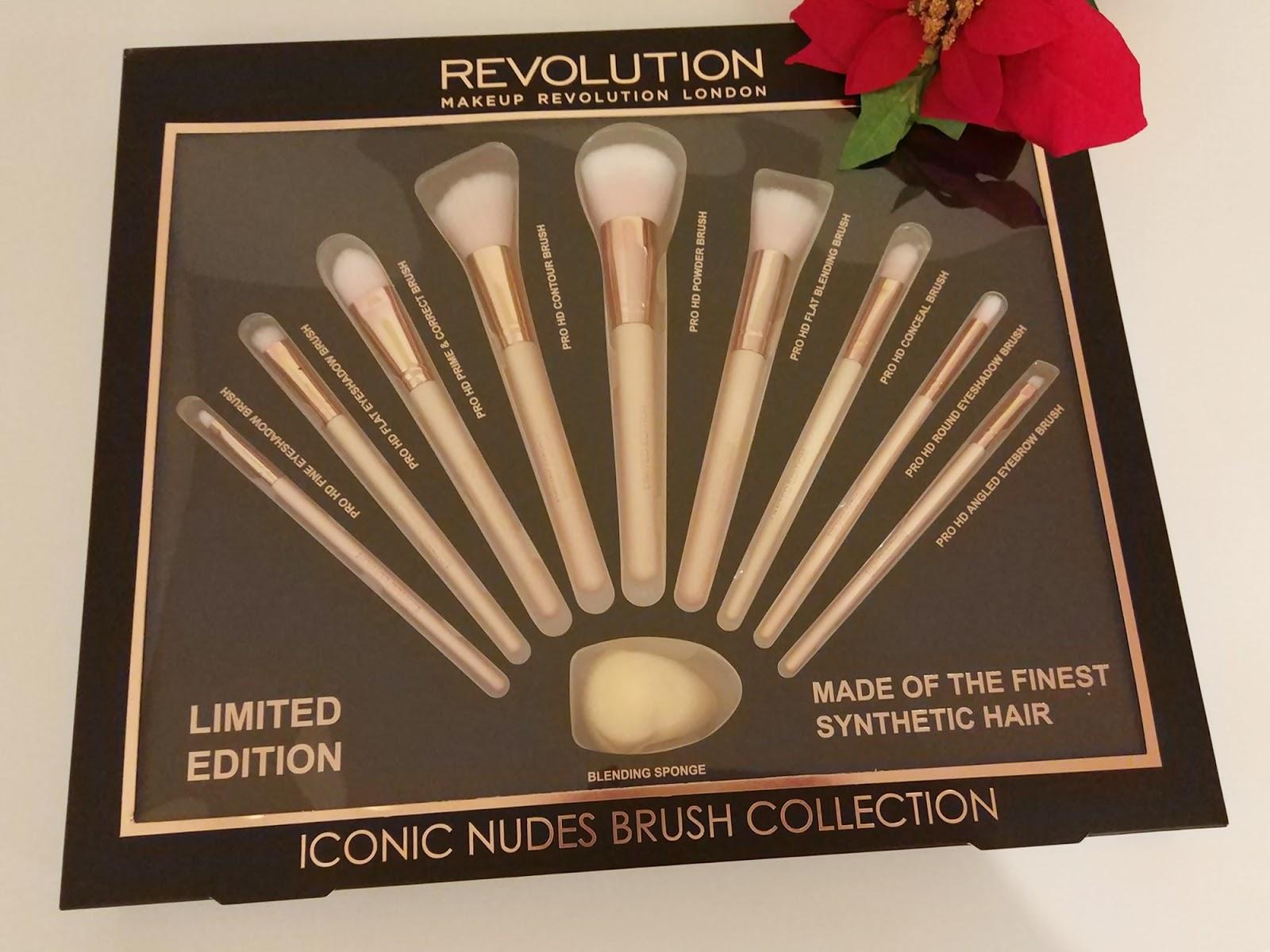 Coleção de pincéis Iconic Nudes, Makeup Revolution