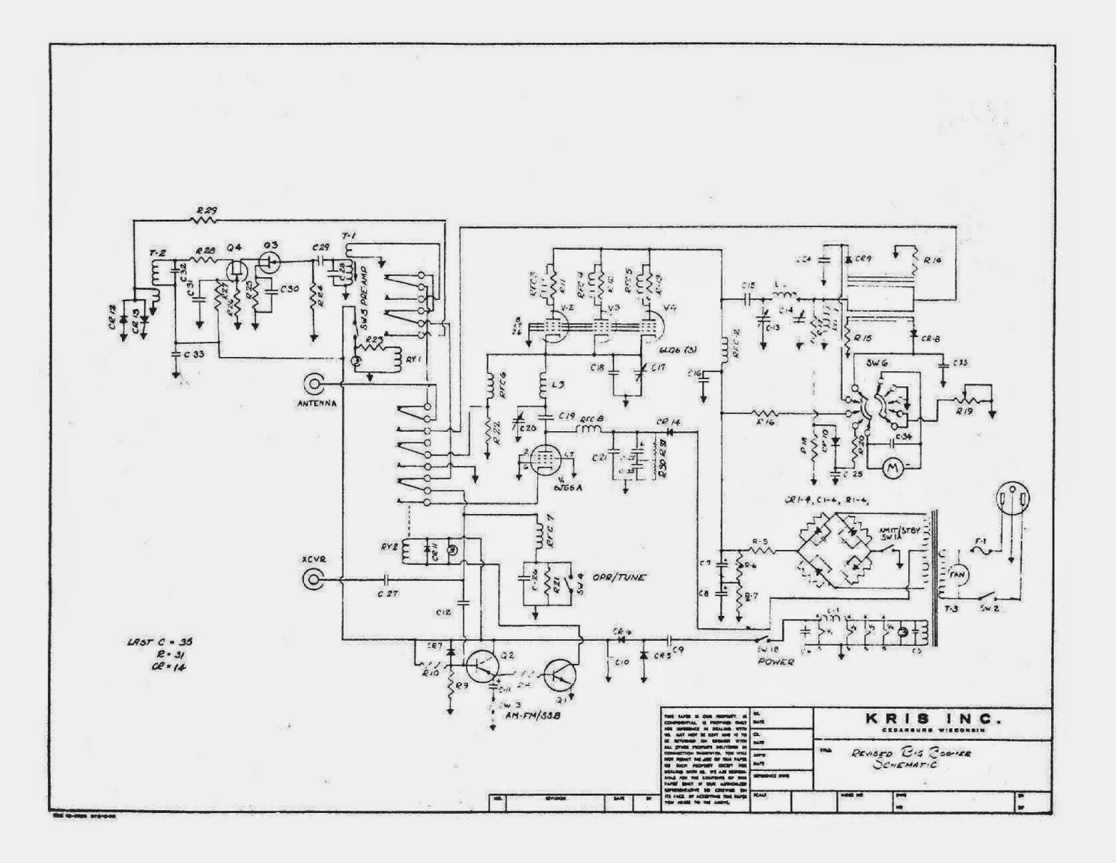 91nr712 Kris Big Boomer 27mhz Linear Amplifier