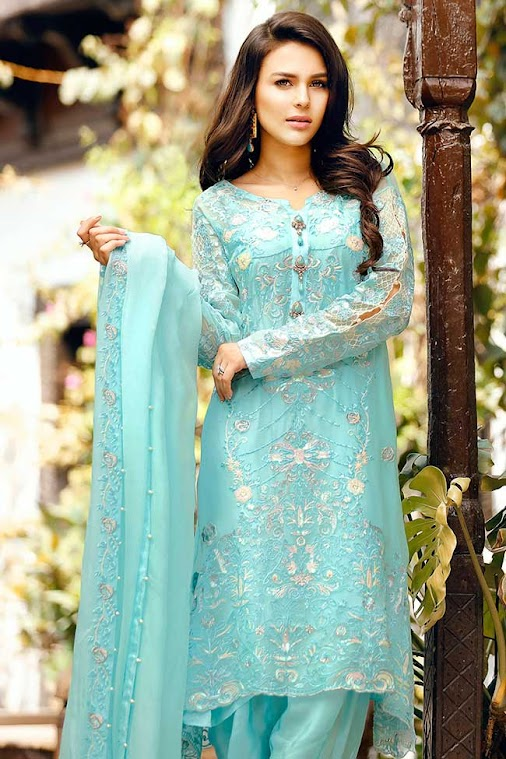 Gulaal Luxury EMBROIDERED FABRICS - EID COLLECTION GE-08 Product Code: GE-08 Availability: In Stock...