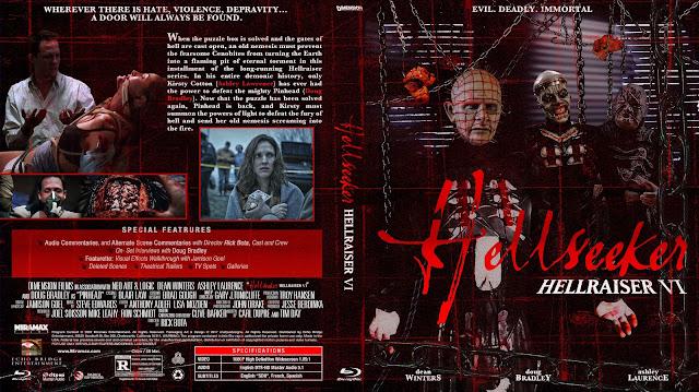 Hellraiser: Hellseeker Bluray Cover