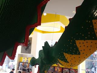 dragon de legos