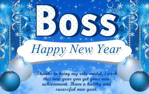 Happy New Year 2017 Wishes Quotes Messages For Boss