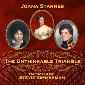 Audio book cover: The Unthinkable Triangle by Joana Starnes