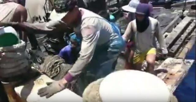 Kapal Terbakar di Penghu Taiwan, Puluhan ABK Indonesia Membantu Evakuasi