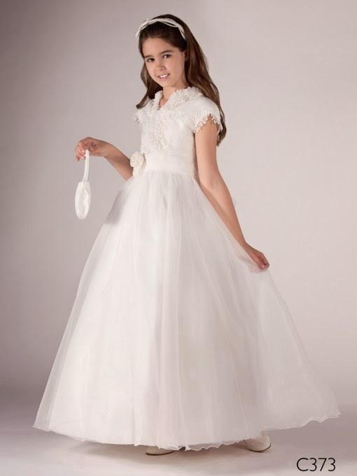 nueva productos servicio duradero última colección vestidos de primera comunion sencillos para adolescentes
