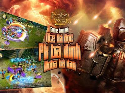 tai game holy war cho mobile