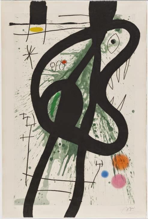 O Grande Carnívoro - Miró, Joan e suas principais pinturas