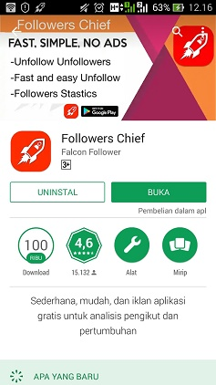 aplikasi unfollow following instagram massal banyak sekaligus android