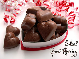 Romantic Heart Shape Chocolate Images for Whatsapp and Facebook