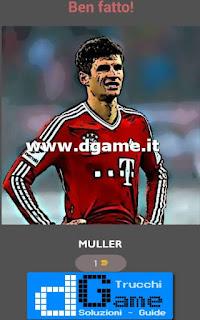 Soluzioni Football Player - Guess Quiz livello 11