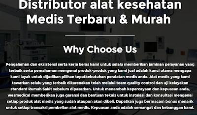 Distributor alat kesehatan Medis Terbaru Murah - Wesmedmedical